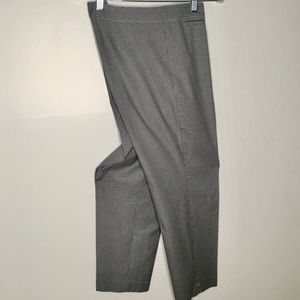 J.Jill Cropped Houndstooth Trousers Size 14 EUC